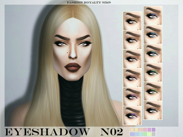 Eyeshadow N02 by FashionRoyaltySims
