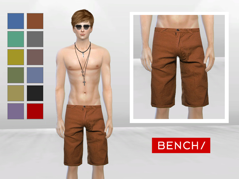 Ipanema Casual Shorts by MclayneSims