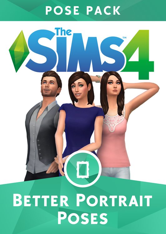 The Sims 4 Better Portraits Pose Pack  by simalary44