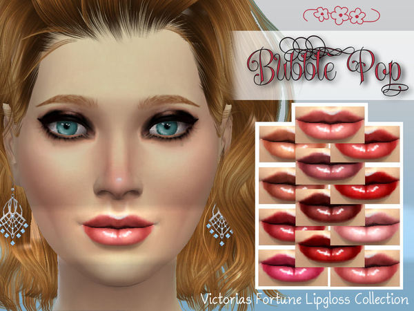 Victorias Fortune Bubble Pop Lipgloss Collection by fortunecookie1