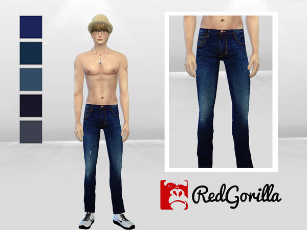 Individuality Denim Jeans by McLayneSims