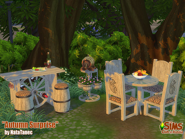 Autumn Surprise Dining Set by natatanec