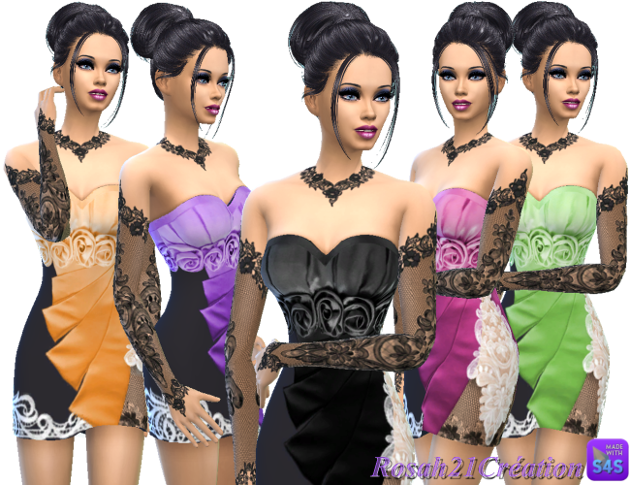 Satin d'ete  By SIMS DENTELLE