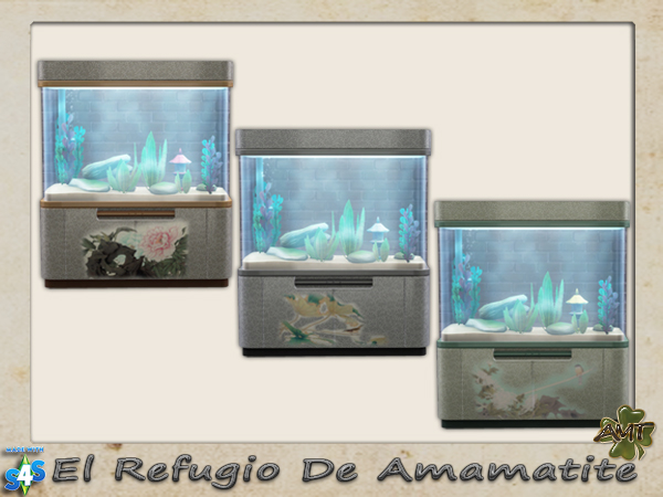 Aquarium Recolors by Amamatite