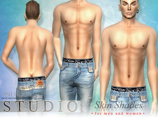PS Studio Skin Shades  For men and women by Pralinesims