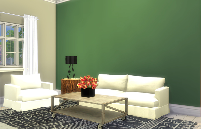 Classy Wall Paint Wallpaper in 100 Colors by SanoySims