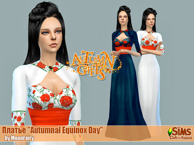 Autumnal Equinox Day dress by MoonFairy