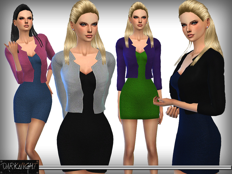 Luxe Dress with Short Blazer  BY DarkNighT