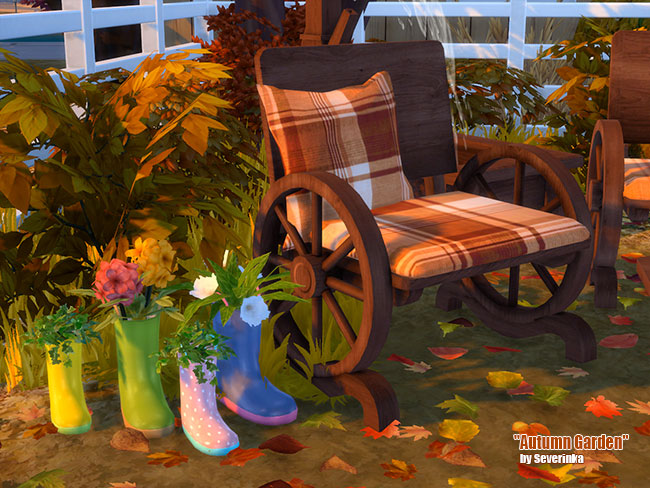 Autumn Garden by Severinka