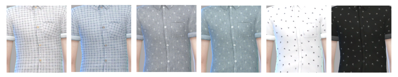 Pattern shirt-short sleeves by SAC