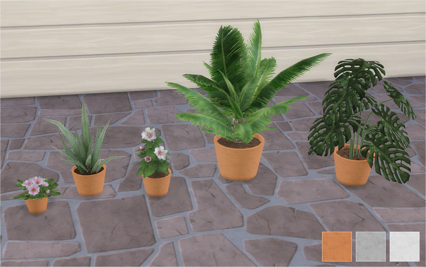 TS3 Suza Plants Conversions by Veranka