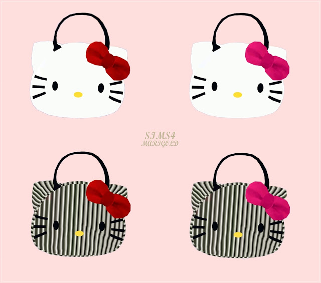 Hello Kitty handbag unisex by Marigold