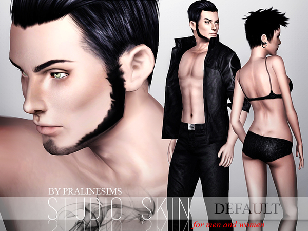 Studio Skin DEFAULT by Pralinesims
