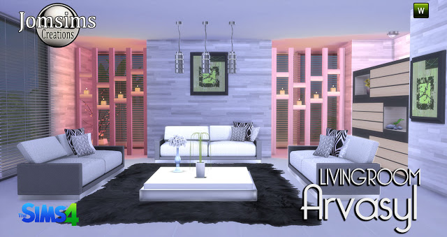 Arvasy Living Room Set by JomSims