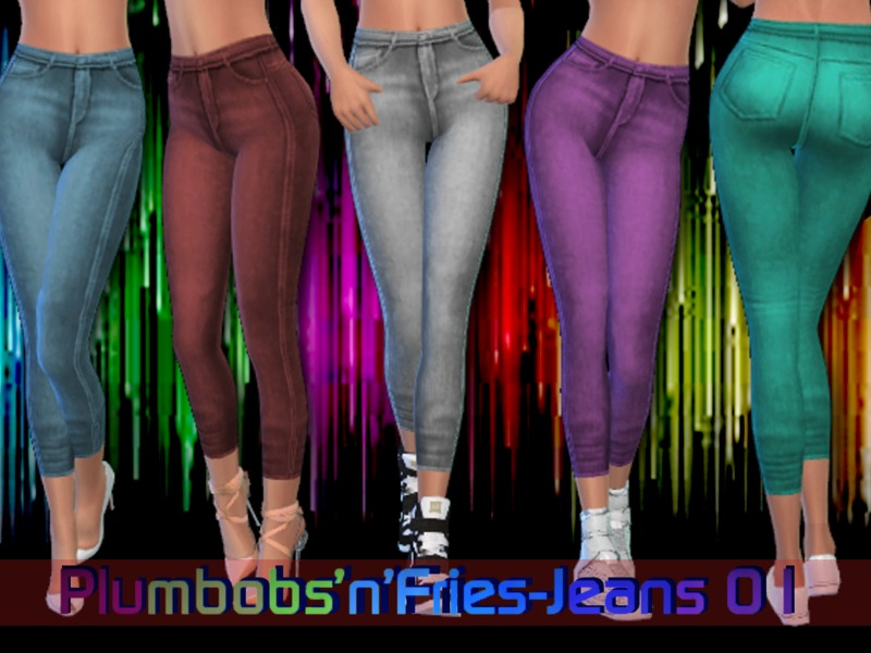 Jeans 01 BY Plumbobs n Fries