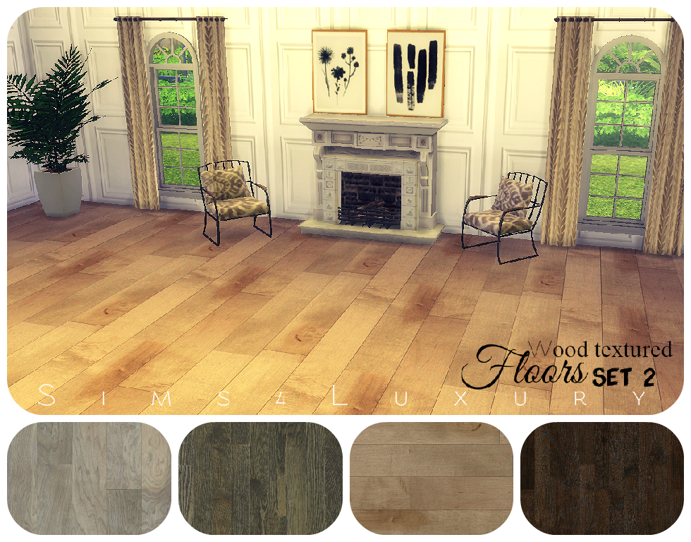 Wood Floors (2)by Sims4Luxury