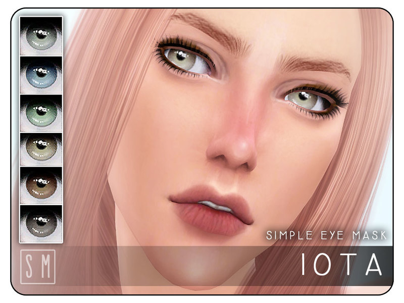 [ Iota ] - Simple Eye Mask   BY Screaming Mustard