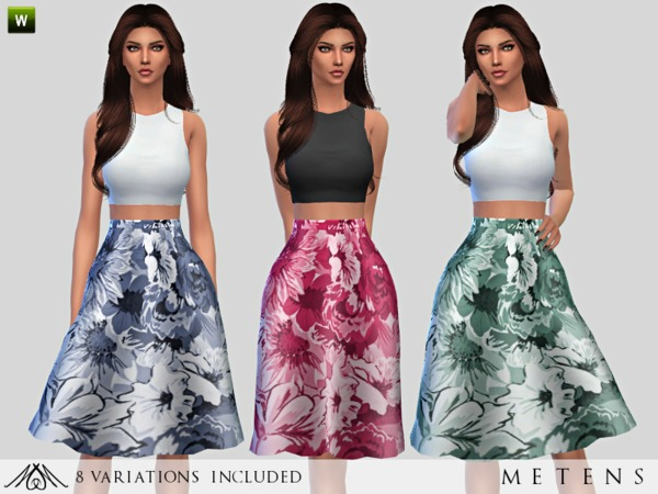 Faded - Dress by Metens