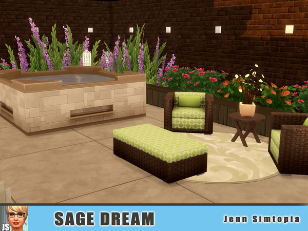 Sage Dream by Jenn Simtopia