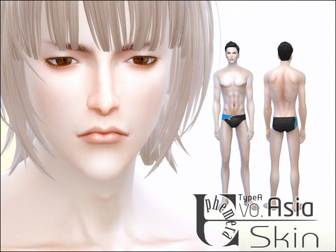 ESkin V0 Asia and Eye Shadow by Ephemera