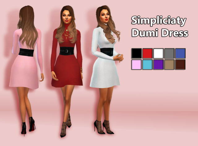 Dumi Dress by Simpliciaty