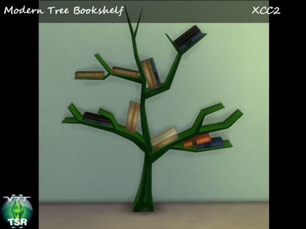 Modern Tree Bookshelf Collection by XCC2