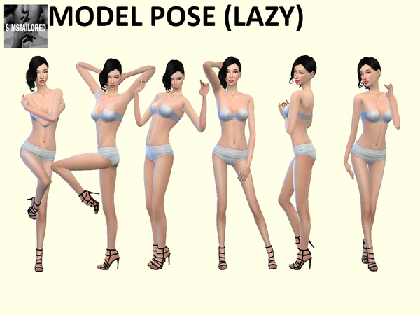 Model Pose LAZYTrait by Simstailored