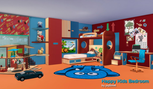 Happy Kids Bedroom Set by PqSim4