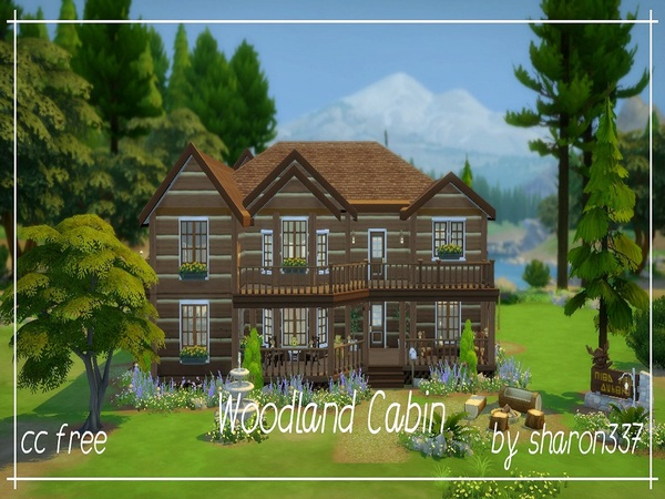 Woodland Cabin by sharon337