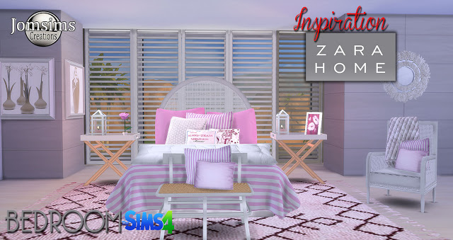 Zara Home Bedroom Set by JomSims