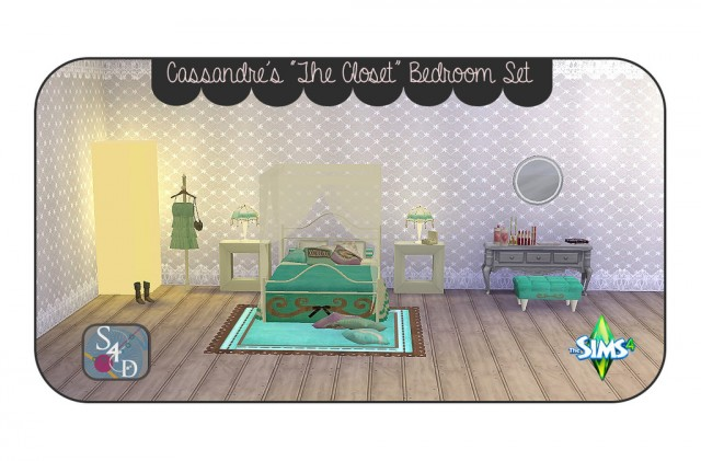 Cassandre's The Closet Bedroom Set Conversion by Daer0n