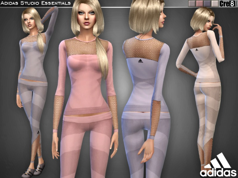 Adidas Studio Essentials Set  BY Cre8Sims