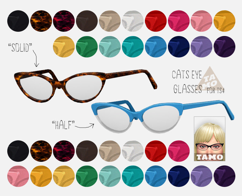 Cat's Eye Glasses for Females by Tamo