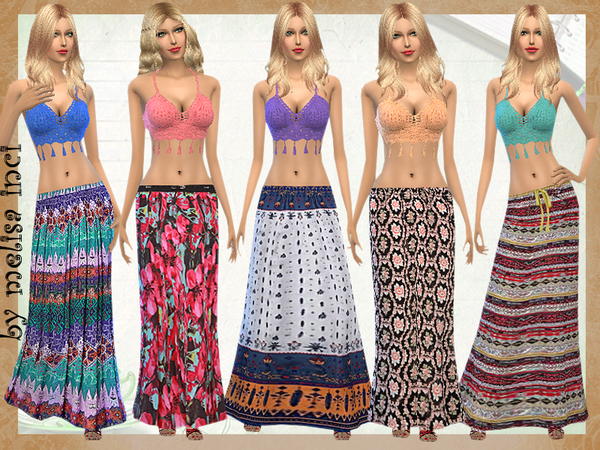 Bohemian Set by melisa inci