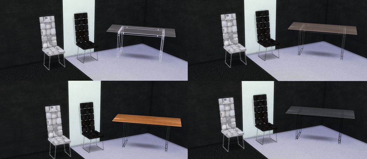 Modern Dining Set by sg5150