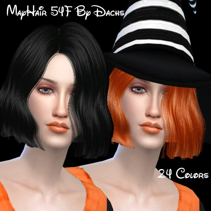 Sintiklia Marmalade Hair Edit/Retexture for Females by Dachs