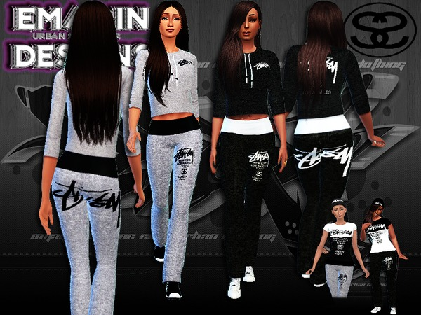 Ladies Stussy Outfits by emagin360
