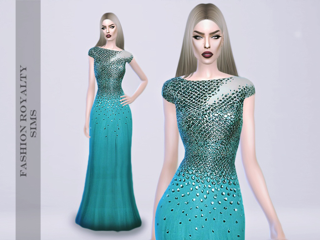 Zuhair Murad Resort 2014 - Mermaid Gown by FashionRoyaltySims