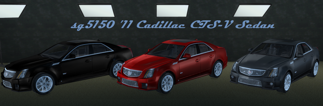 TS3 Fresh-Prince 2011 Cadillac CTS-V Sedan Conversion by sg5150