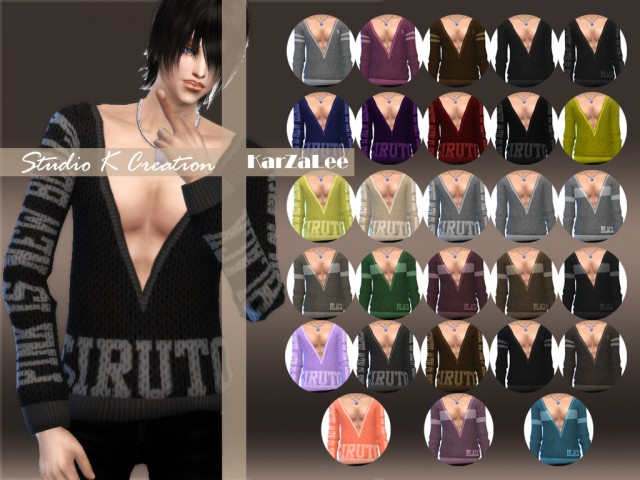 V Neck Sweaters for Males & Females by Karzalee