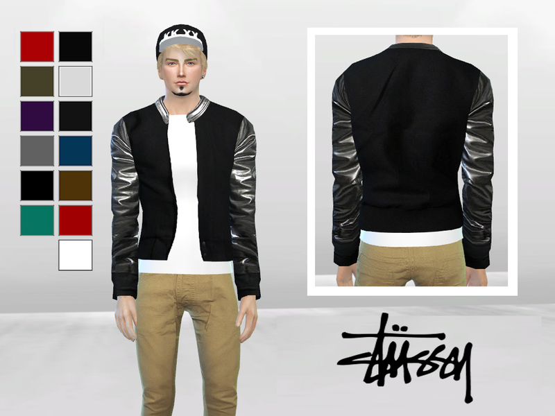 Metallic Leather Bomber Jacket BY McLayneSims