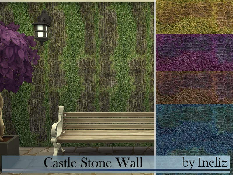 Castle Stone Wall BY Ineliz