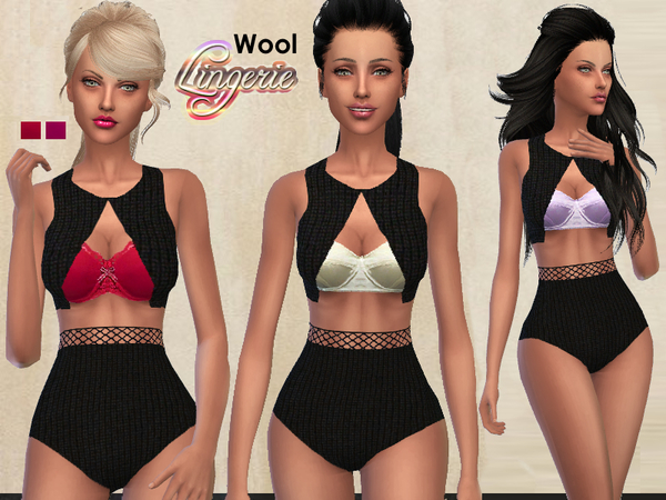 Wool Lingerie by Puresim