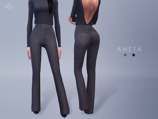 Flared Pants - ANETA by starlord