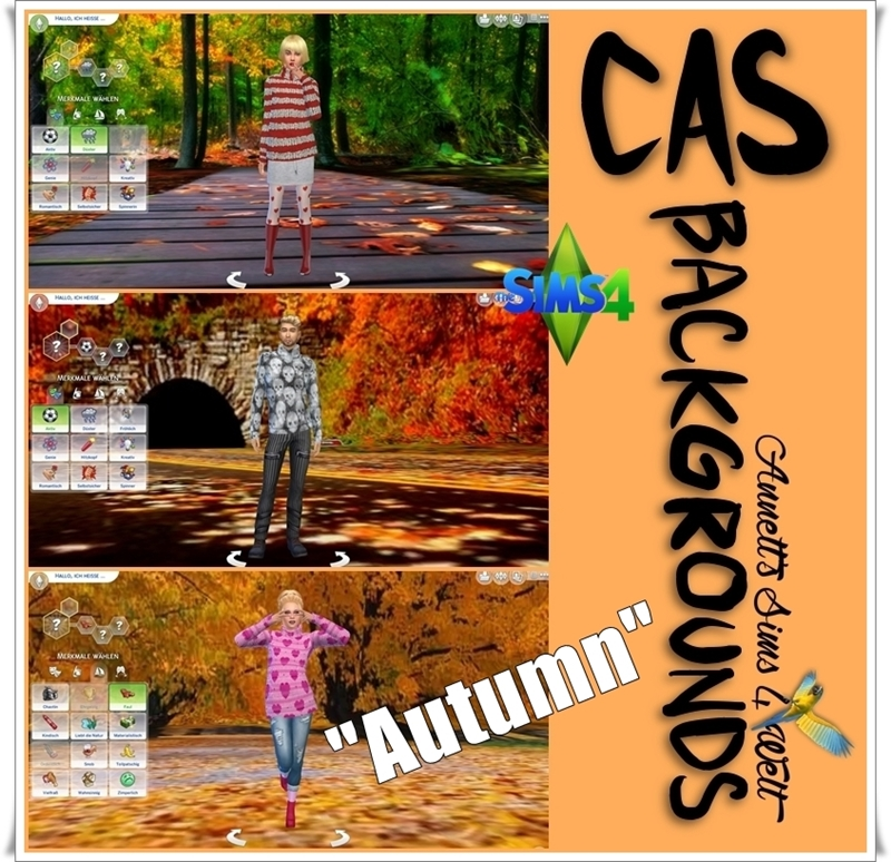 "Осенние фоны CAS Backgrounds ""Autumn"" by annett85"