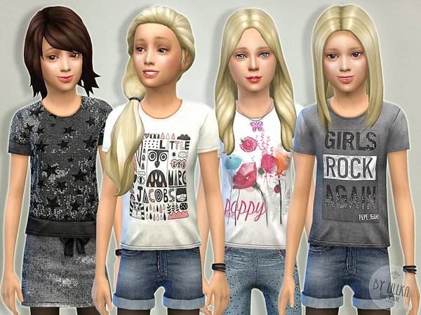 T- Shirt Collection GP04 by lillka