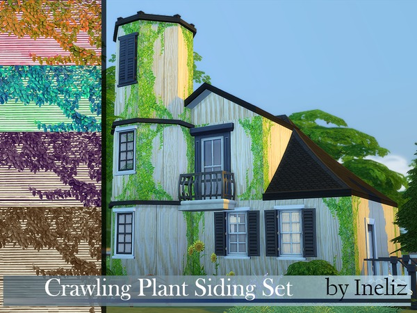 Crawling Plant Siding Set by Ineliz