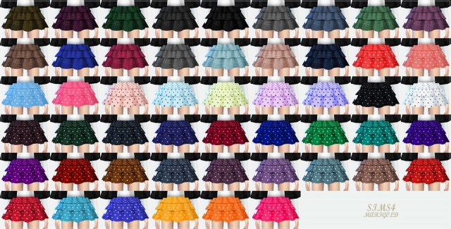 Cape Coat and Tiered Skirt for Girls by Marigold