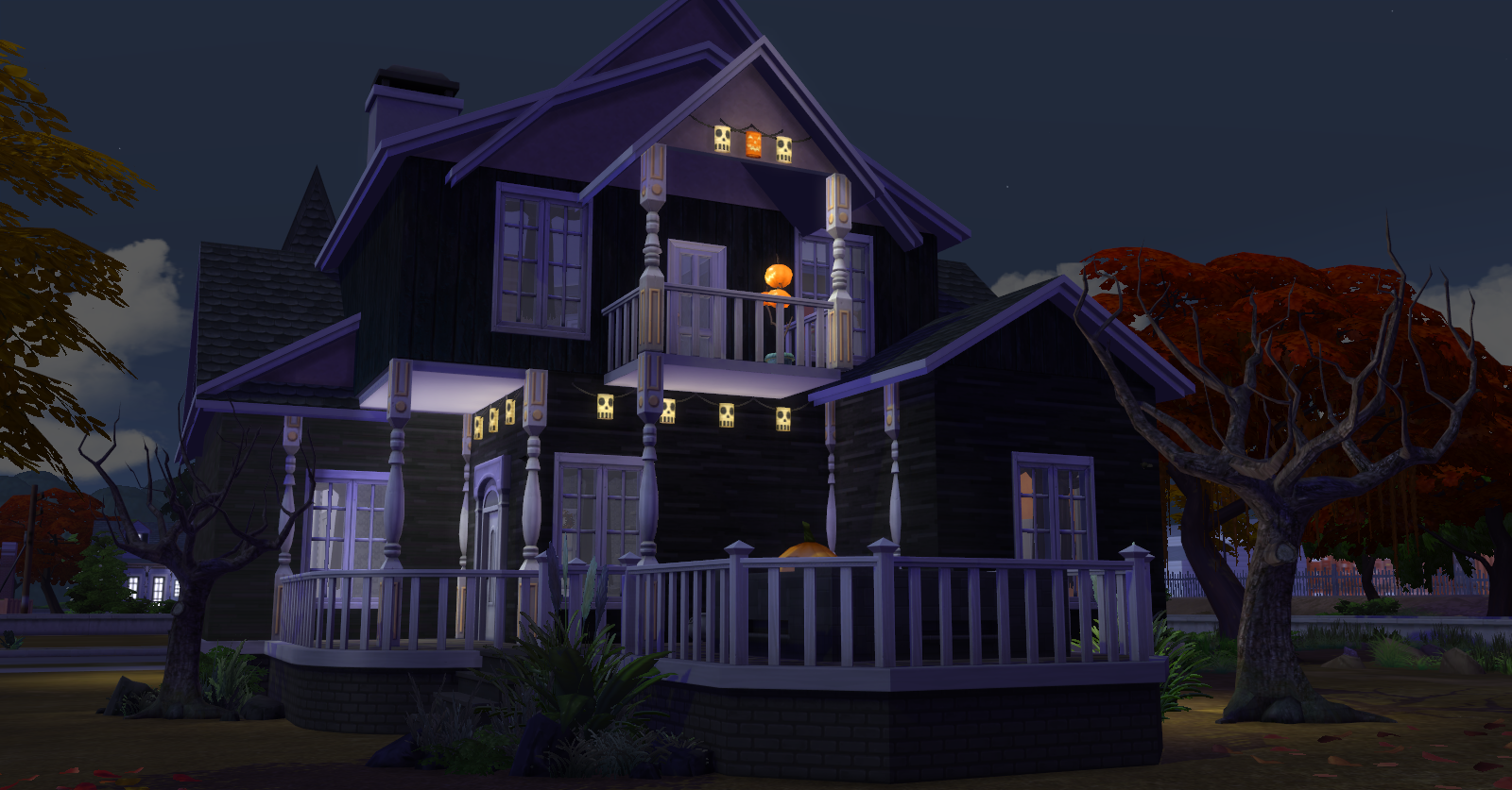 Halloween House by Dachs