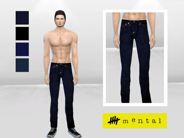 R13 Denim Jeans by McLayneSims
